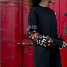 Ruby Floral Winter Dress - Spirited Jungle