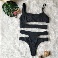 Lima Bandeau Bikini Set - Spirited Jungle