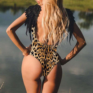 Summer Beach Angel One-Piece Swimsuit - Spirited Jungle