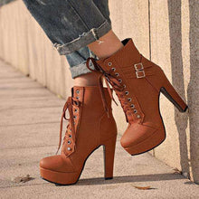 Ally Strap High-Heel Boots - Spirited Jungle