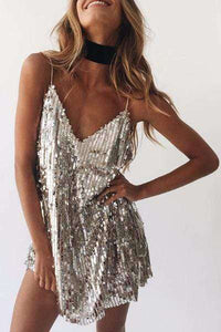 Sequined Party Dress - Spirited Jungle
