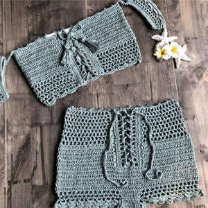 Catarina Crochet Bikini Set - Spirited Jungle