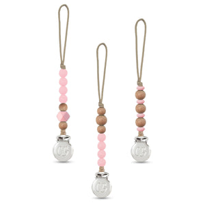 3 SET OF CLIPS GIFT SET - PINK