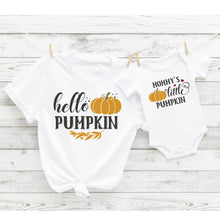 Hello Pumpkin - Mama and Mini Set