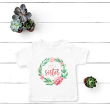 Little Sister Wreath T-Shirt