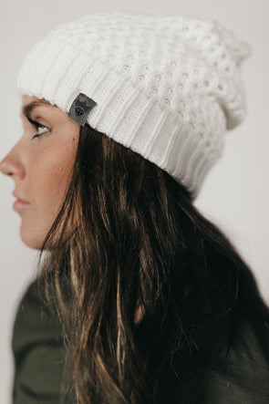 North Shore Beanie (White)