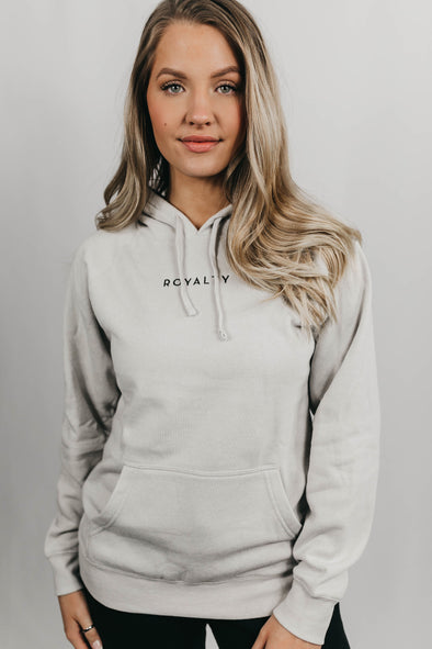 Lounge Hoodie (Stone Heather/Black)