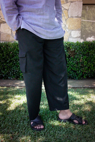 Causal Relaxed Fit Pants