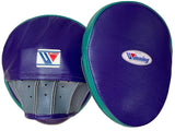 Winning Oval Curved Punch Mitts - Purple · Green · Gray