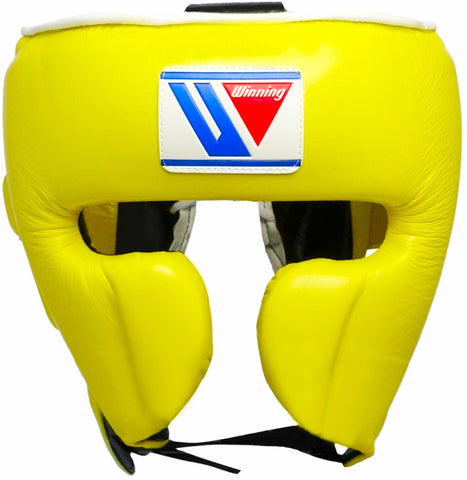 Winning Cheek Protector Headgear - Yellow - WJapan Store