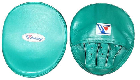 Winning Oval Curved Punch Mitts - Green