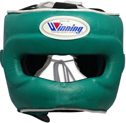 Winning Green Full Face Bar Headgear - WJapan Store