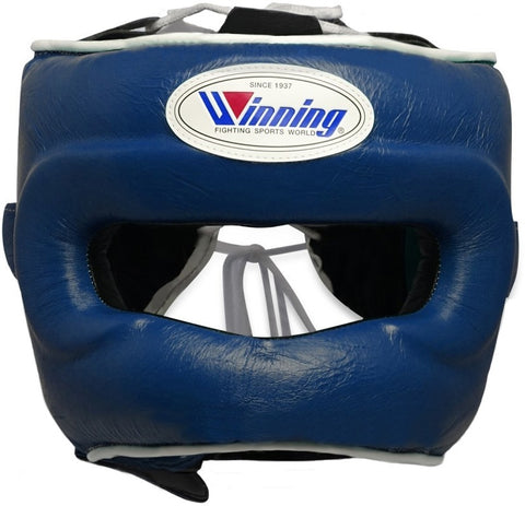 Winning Navy Full Face Bar Headgear - WJapan Store