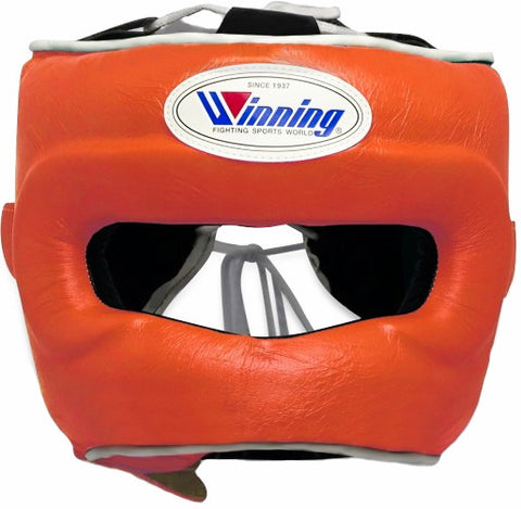 Winning Orange Full Face Bar Headgear - WJapan Store