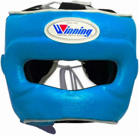 Winning Sky Blue Full Face Bar Headgear - WJapan Store