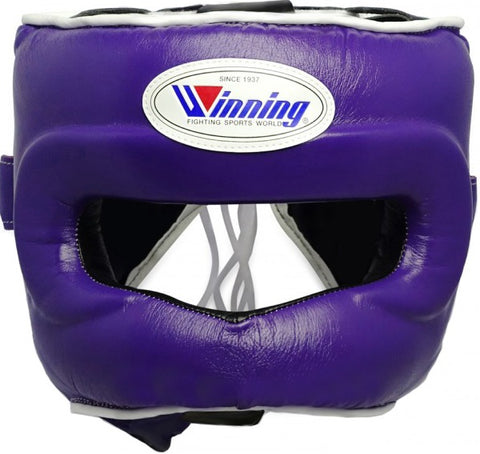 Winning Purple Full Face Bar Headgear - WJapan Store
