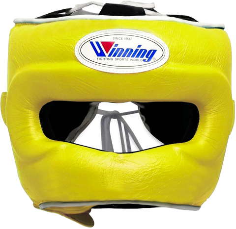 Winning Full Face Headgear - Yellow - WJapan Store