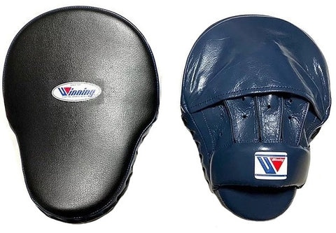 Winning High-Grade Type Punch Mitts - Navy · Black