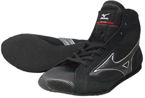 Mizuno Short-Cut Type Boxing Shoes - Black