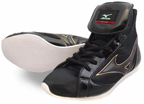Mizuno Short-Cut FOT Type Boxing Shoes - Black