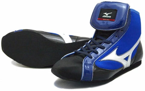 Mizuno Short-Cut FOT Type Boxing Shoes - Black · Navy · White