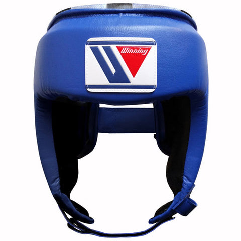 Winning Open Face Headgear - Blue - WJapan Store