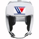 Winning White Open Face Headgear - WJapan Store