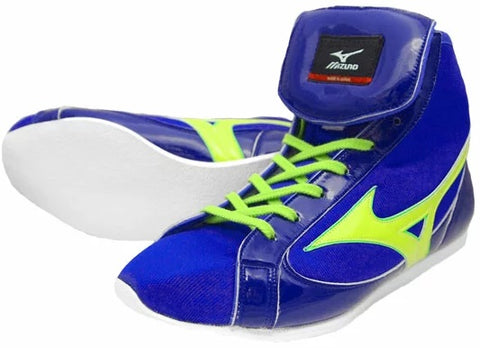 Mizuno Short-Cut FOT Type Boxing Shoes - Navy · Green
