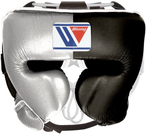 Winning Cheek Protector Headgear - Silver · Black