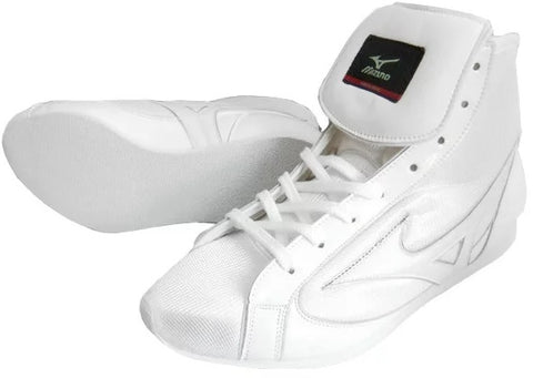 Mizuno Short-Cut FOT Type Boxing Shoes - White