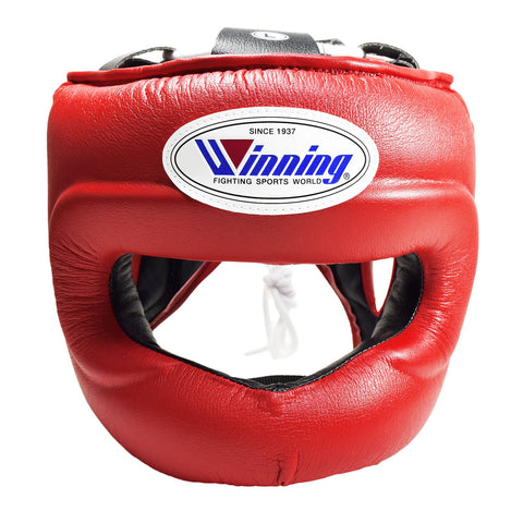 Winning Red Full Face Bar Headgear - WJapan Store