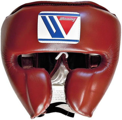 Winning Cheek Protector Headgear - Brown - WJapan Store