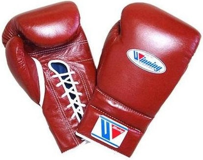 Winning Lace-up Boxing Gloves - Brown - WJapan Store