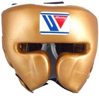 Winning Cheek Protector Headgear - Gold - WJapan Store