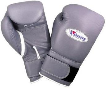 Winning Velcro Boxing Gloves - Gray - WJapan Store