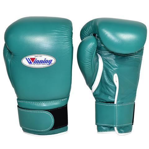 Winning Velcro Boxing Gloves - Green - WJapan Store