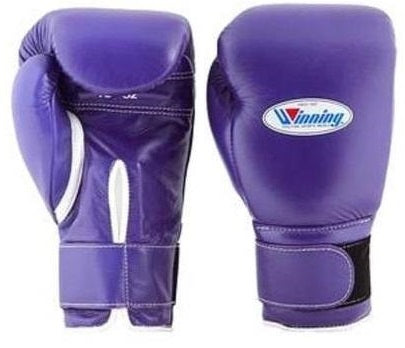 Winning Velcro Boxing Gloves - Purple - WJapan Store