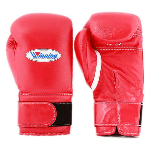 Winning Velcro Boxing Gloves - Red - WJapan Store