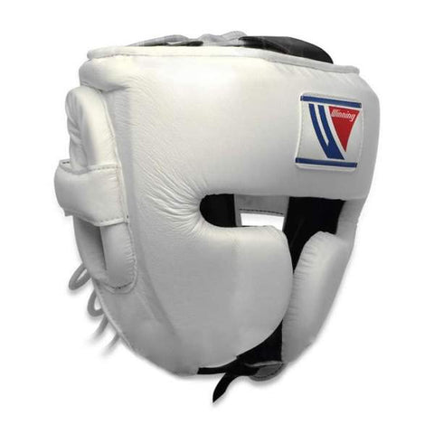Winning White Cheek Protector Headgear