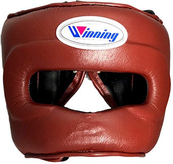 Winning Brown Full Face Bar Headgear - WJapan Store