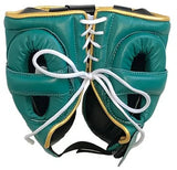 Winning Cheek Protector Headgear - Green · Gold