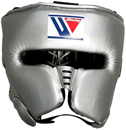 Winning Special Cheek Protector Headgear - Silver - WJapan Store