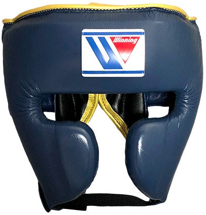 Winning Cheek Protector Headgear - Navy · Yellow - WJapan Store