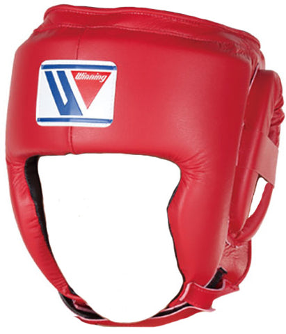 Winning Open Face Headgear - Junior - Red - WJapan Store