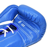 Winning Lace-up Boxing Gloves - Blue - WJapan Store