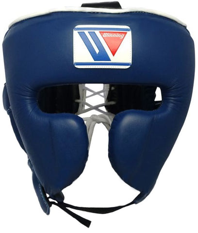 Winning Cheek Protector Headgear - Navy