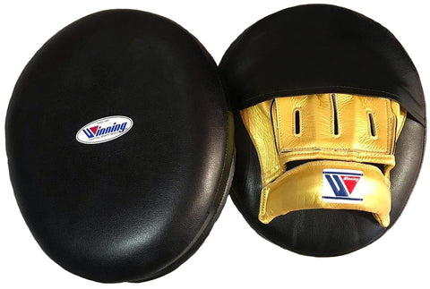 Winning Soft Type Mitts - Finger Cover - Black · Gold - WJapan Store