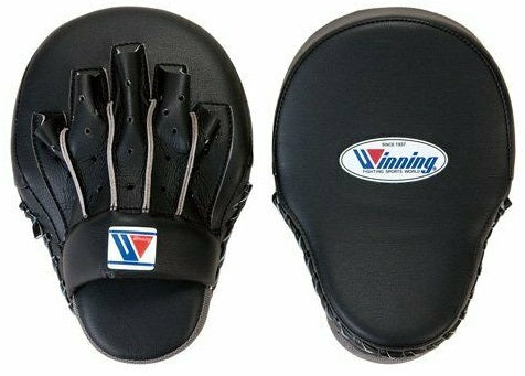 Winning High-Grade Type Punch Mitts - Black - WJapan Store
