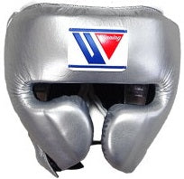 Winning Cheek Protector Headgear - Silver - WJapan Store