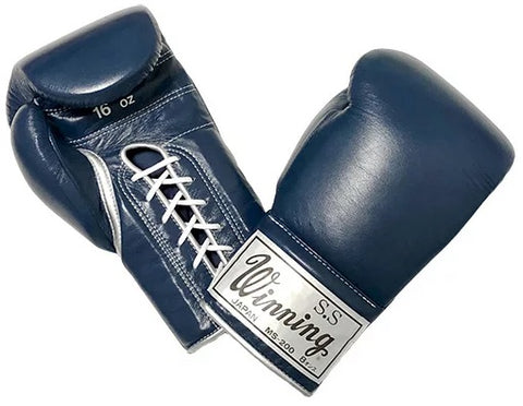 Winning Vintage Style Lace-up Boxing Gloves 16oz